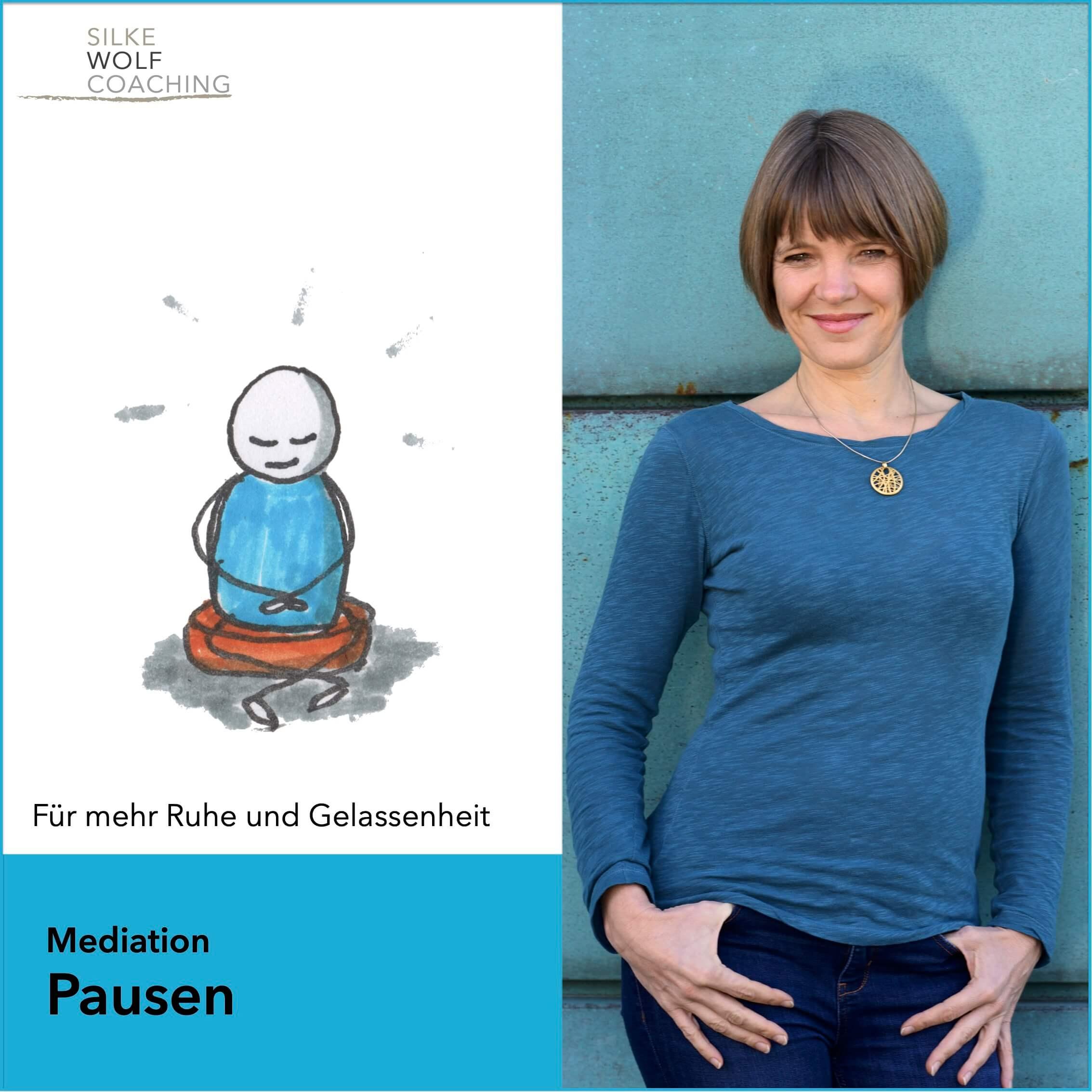 Meditation-Pause-Thumbnail Silke Wolf